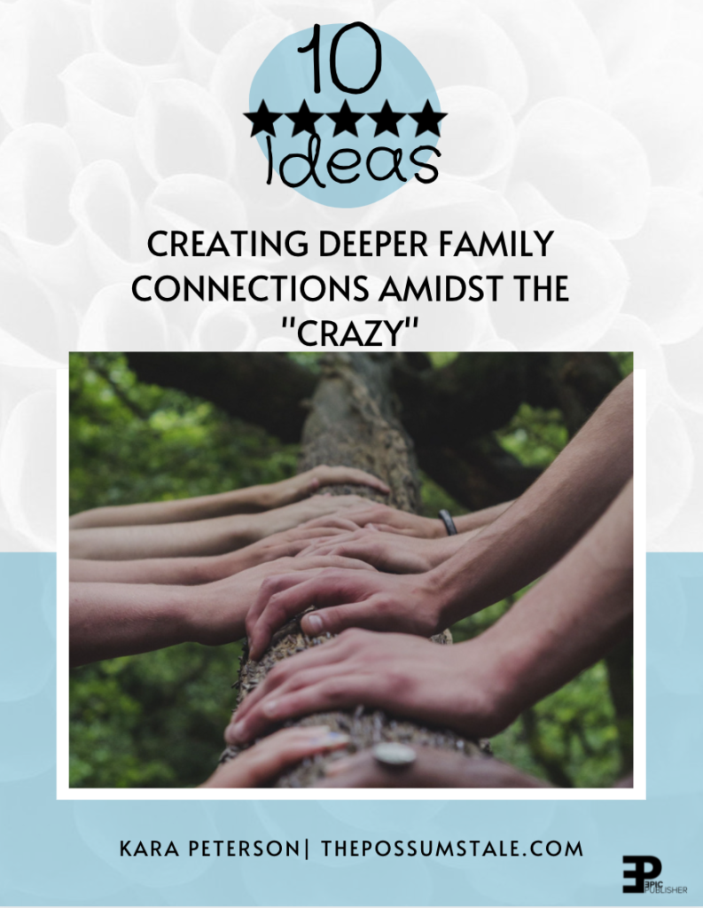 Creating Deeper Family Connections PDF
